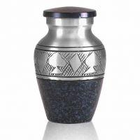 Black Poker Brass Keepsake Cremation Urn