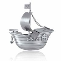 Buccaneer's Pirate Ship Infant Keepsake Cremation Urn