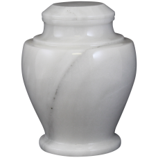 Carpel Antique White Adult Urn
