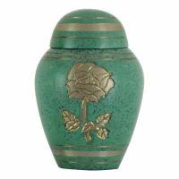 Celtic Golden Rose Keepsake Cremation Urn