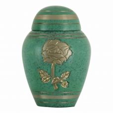 Celtic Golden Rose Keepsake Cremation Urn