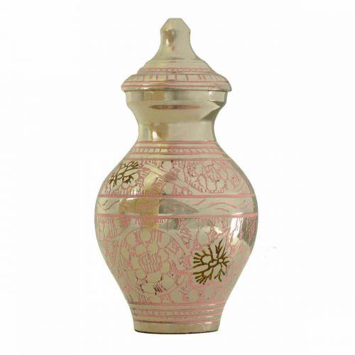 Classic Garden Pink Keepsake Cremation Urn -  - 4251