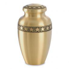 Star Bright Brass Urn