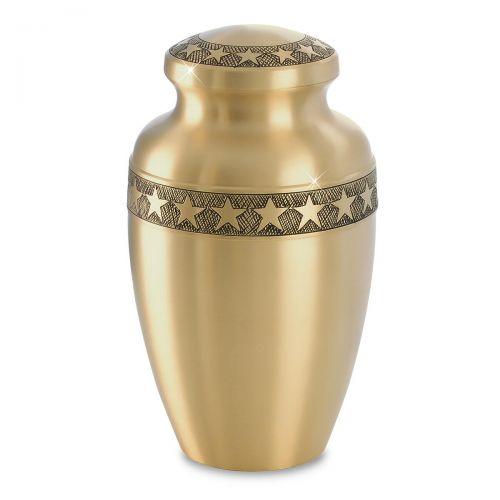 Star Bright Brass Urn -  - 60372