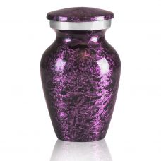 Purple Marbled Pewter Keepsake