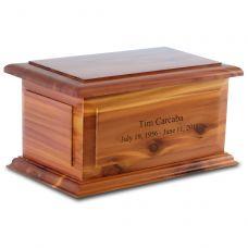 Alexandria Cedar Companion Urn