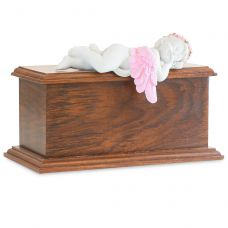 Pink Resting Angel Urn