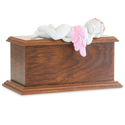 Pink Resting Angel Urn -  - 90021