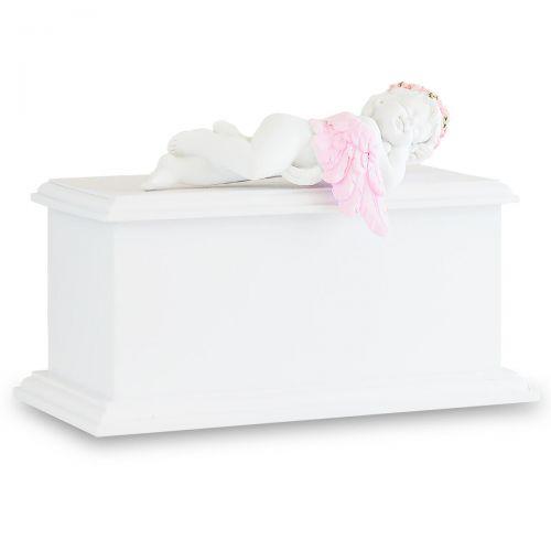 Pink Resting Angel Infant Urn -  - 33110