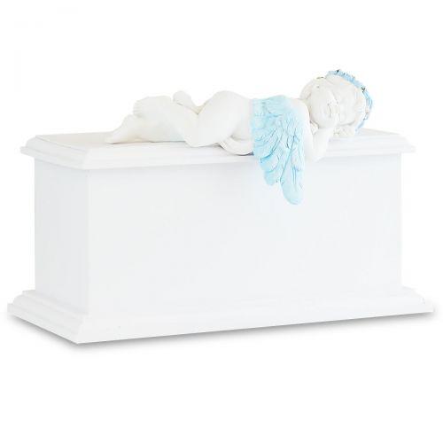 Blue Resting Angel Infant Urn -  - 33109
