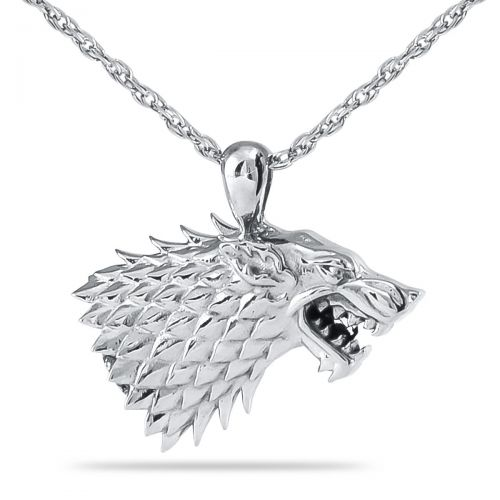 Wolf Steel Cremation Keepsake -  - 33106
