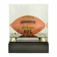 Football Glass Display Cremation Urn (Ball not included)