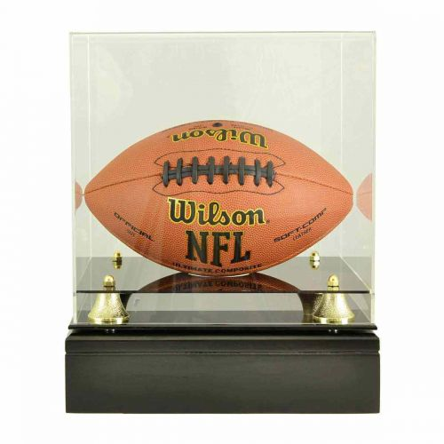 Football Glass Display Cremation Urn (Ball not included) -  - 9246