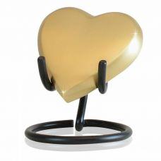 All My Love Heart Brass Keepsake