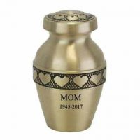 Heart's Ring Keepsake Cremation Chamber Pendant Jewelry