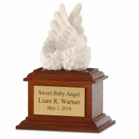 Heaven's Care Infant In Wings Cremation Urn