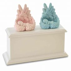 Heaven's Care Infant Twins Cremation Urn