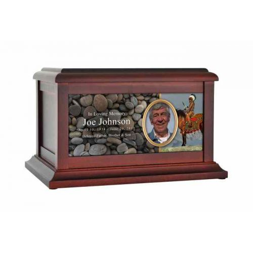 Indian/Native American Proud Eagle Urn -  - 61583