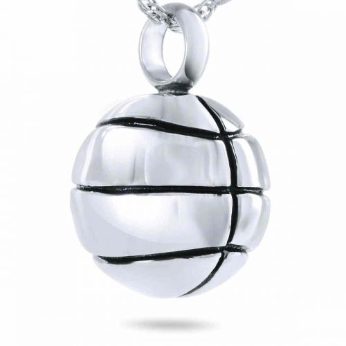 Love of Basketball Pendant Cremation Urn -  - 1008B