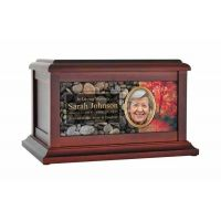 Magical Forest Red Leaves Urn