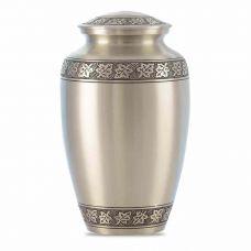 Maple Leaf Pewter Cremation Urn