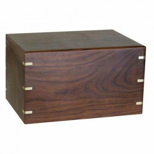 Windsor Brass Wood Urn -  - 87621