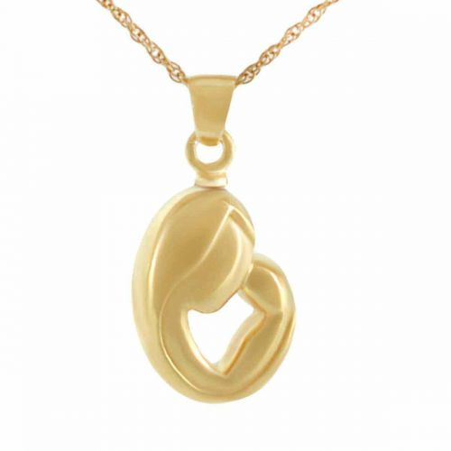 Mothers Love 14K Gold Keepsake Cremation Chamber Jewelry Necklace -  - 74008