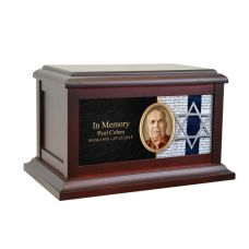 Jewish Star Life Treasured Urn