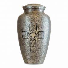 Old World Celtic Cross Cremation Urn