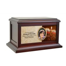 Hanukkah Life Treasured Urn