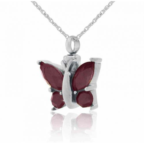 Purple Winged Butterfly Steel Keepsake Cremation Necklace -  - 21069