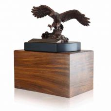 Religious Eagle Cremation Urn
