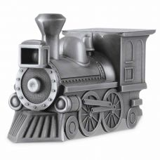 Shining Train Cremation Keepsake Urn