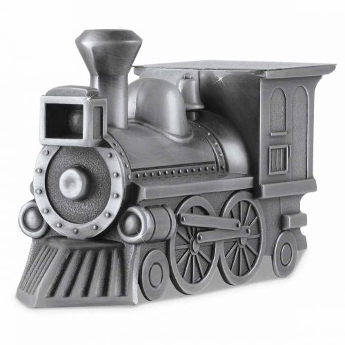 Shining Train Cremation Keepsake Urn -  - 4573