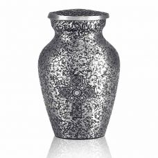 Silver Celtic Cross Keepsake Mini Urn