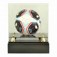Soccer Ball Glass Display Cremation Urn (Ball not included)