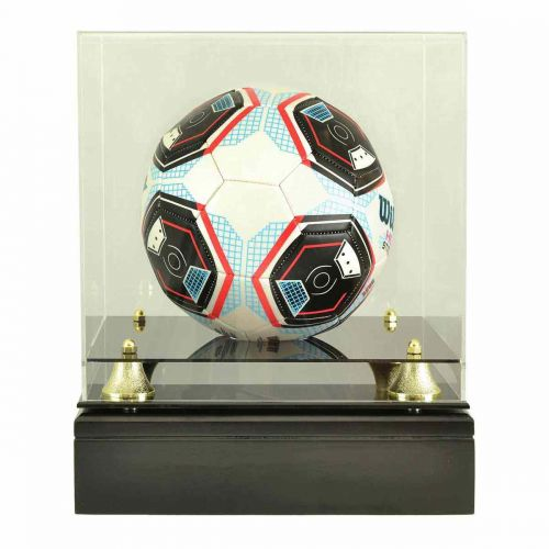 Soccer Ball Glass Display Cremation Urn (Ball not included) -  - 9223
