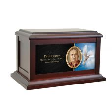 White Dove Life Treasured Urn