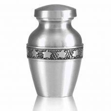 Star Bright Pewter Keepsake Cremation Urn