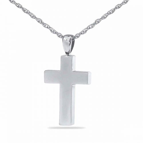 Timeless Cross Keepsake Cremation Chamber Jewelry Necklace -  - 4981