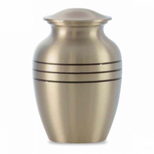 Timeless Pewter Toddler Cremation Urn -  - 10052