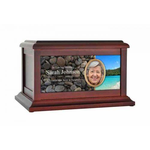 Virgin Islands Beach Urn -  - 61580