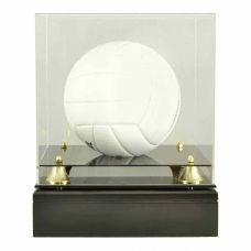 Volleyball Glass Display Urn (Ball not included)